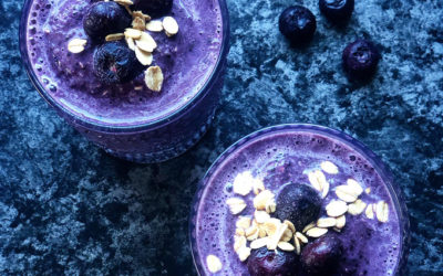 Blueberry Recovery Smoothie