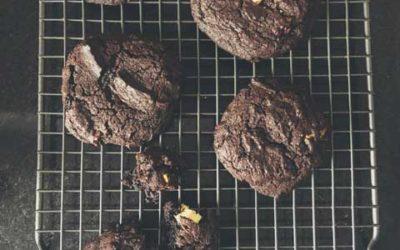 Double Choc Chunk Cookies
