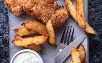 Fish & Chips with Tartare Sauce