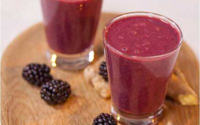Blackberry & Ginger Smoothie