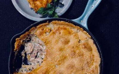 Chicken Pie with Parmesan Pastry