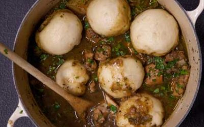 Chicken Stew & Dumplings