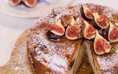 Fig Yoghurt Cake