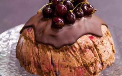 Frozen Black Forest Bombe