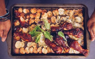 Baked Peri-Peri Chicken with Crispy Potatoes