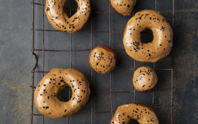Coffee Glazed Doughnuts