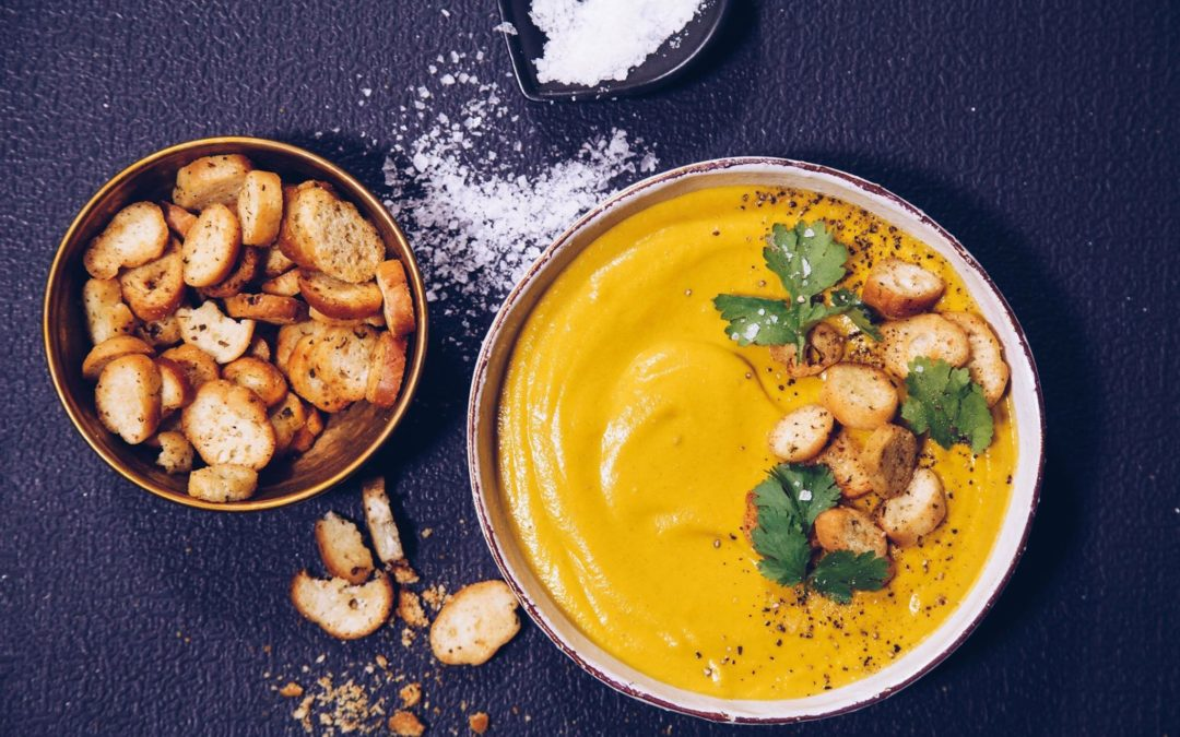Cumin Scented Carrot Soup