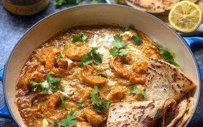 Zola's Feasts Prawn Curry