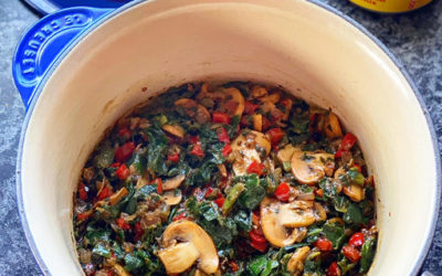 Zola's Feasts Spiced Spinach & Mushrooms