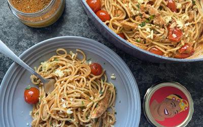 Creamy Tomato & Chicken Pasta