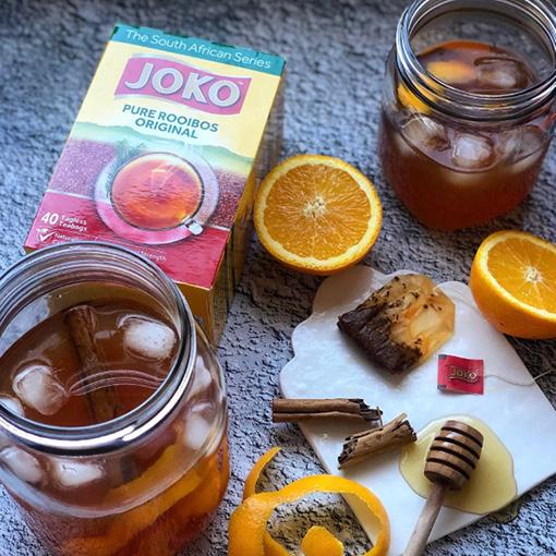 Cinnamon & Orange Rooibos Iced Tea
