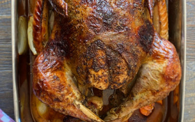 Spiced Butter Roasted Turkey & Pan Gravy