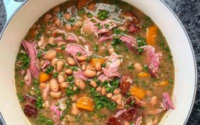 Sugar Bean & Eisbein Stew