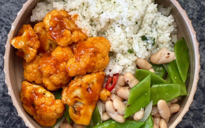Chipotle Cauliflower, Bean & Maize Rice Bowl