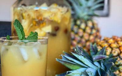 Homemade Pineapple Beer