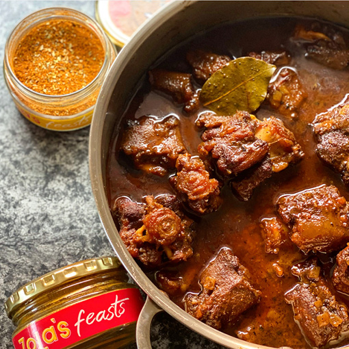 Zola's Feasts Oxtail Stew